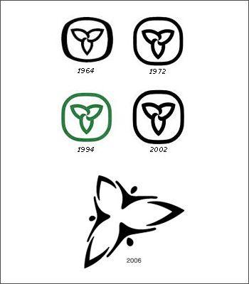 Ontario Trillium Logo Over the Years
