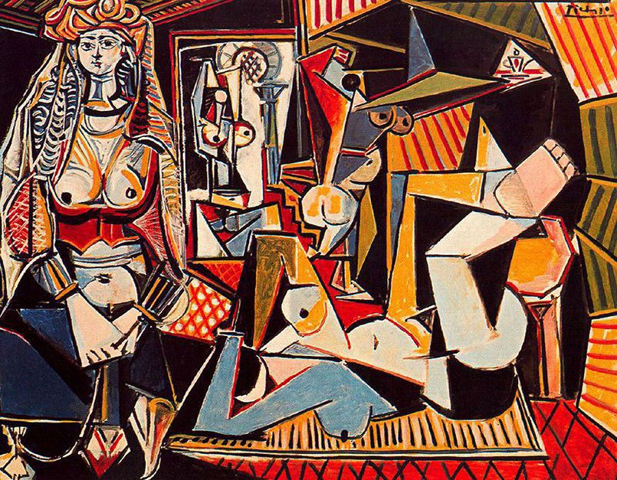 The Women of Algiers 1955 - Pablo Picasso