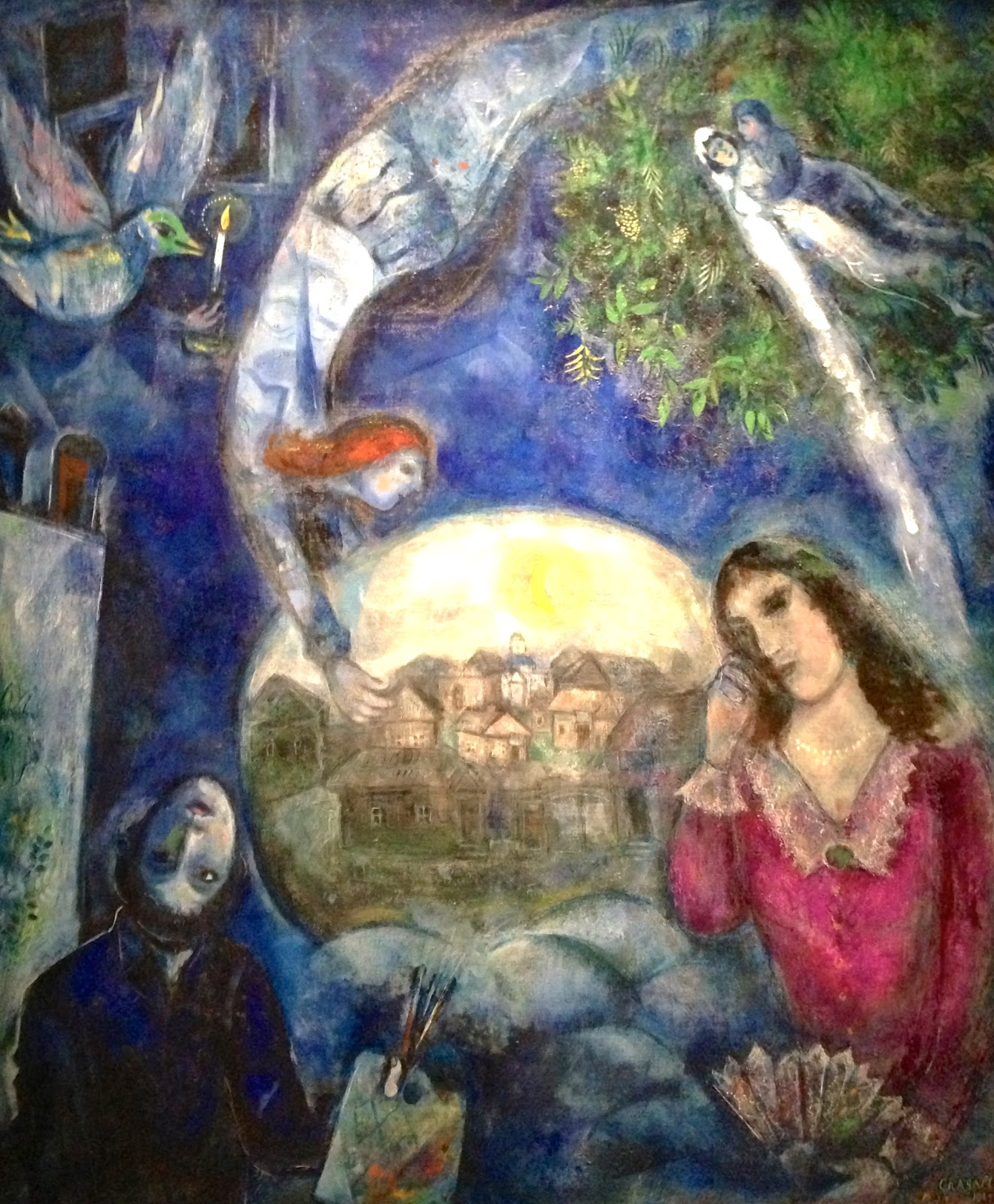 Around Her - Chagall