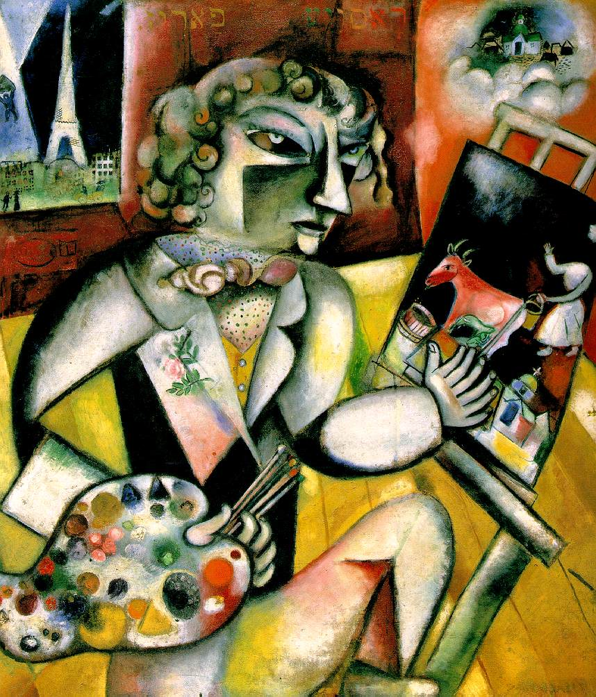 Chagall - Self Portrait With Seven Fingers