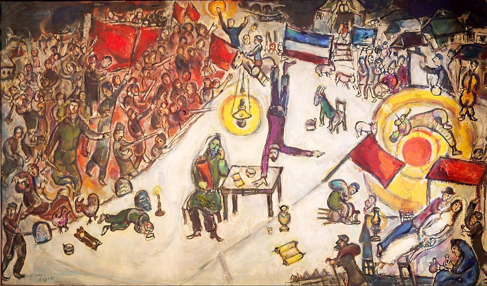 La Revolution - Chagall