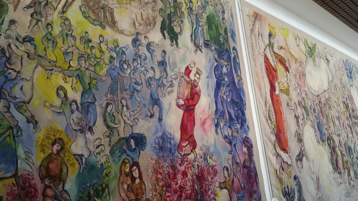 Chagall tapestry at Israeli parliament