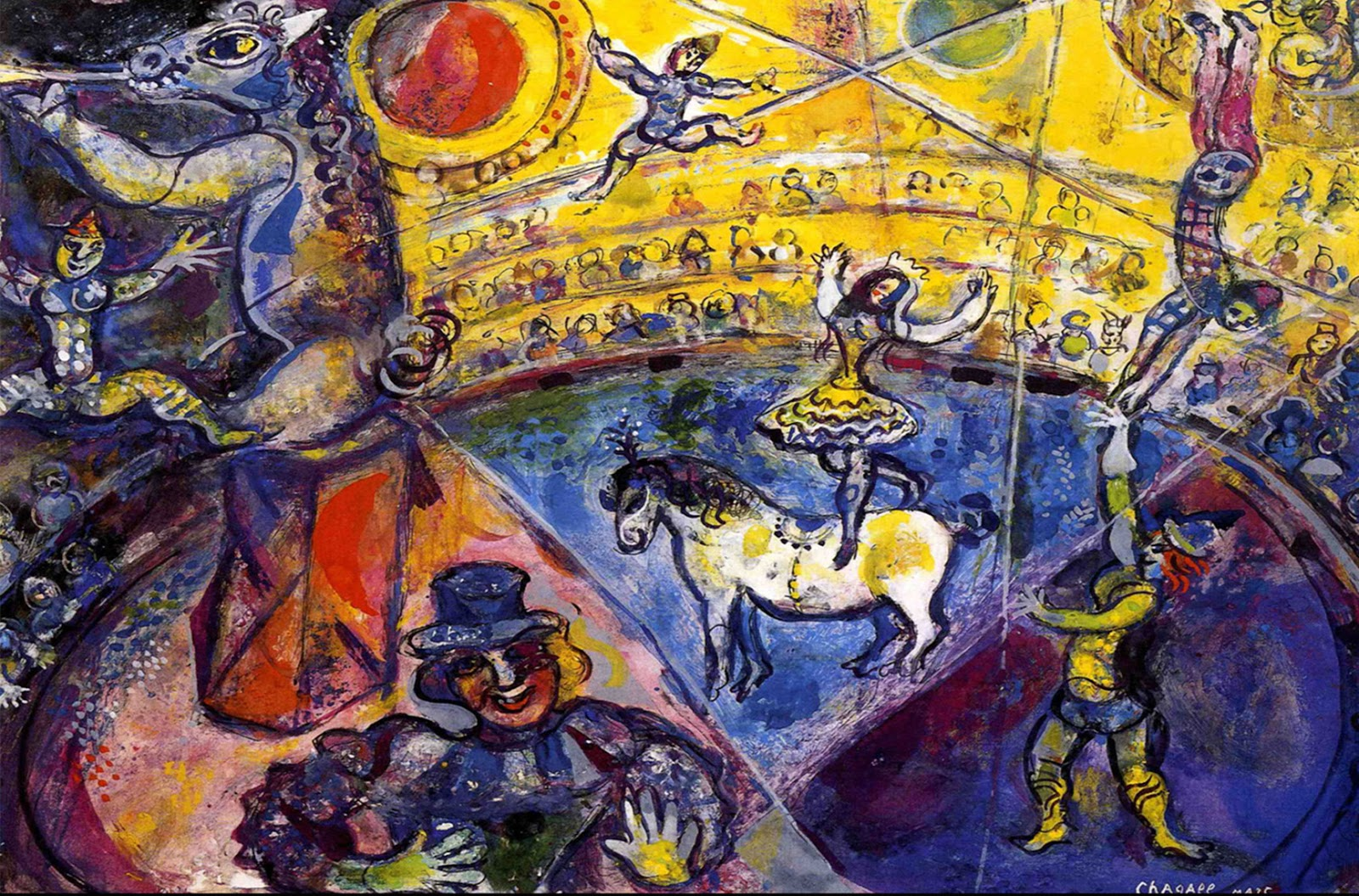 Marc Chagall – The Bible, Love & Mozart (1887-1985)
