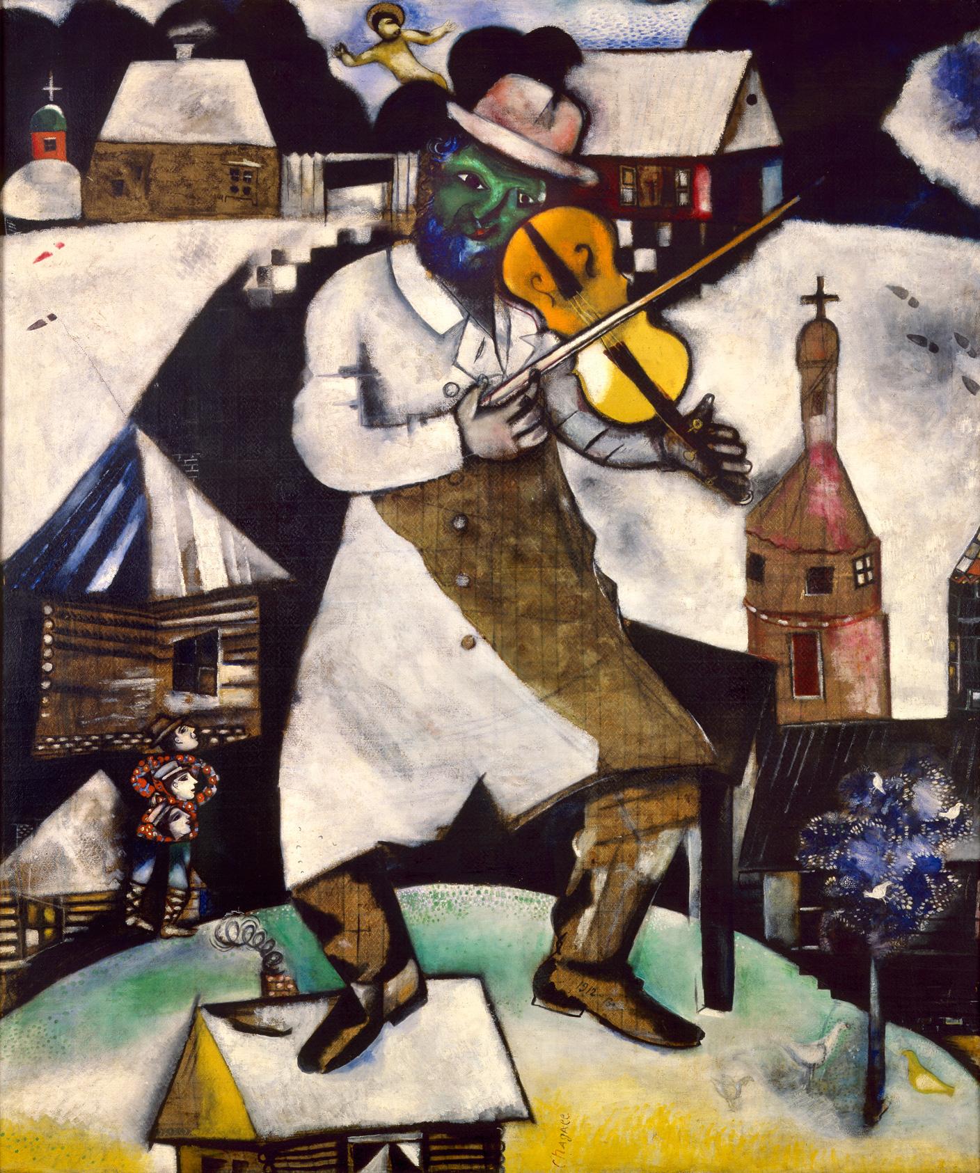 Chagall_Fiddler-1912