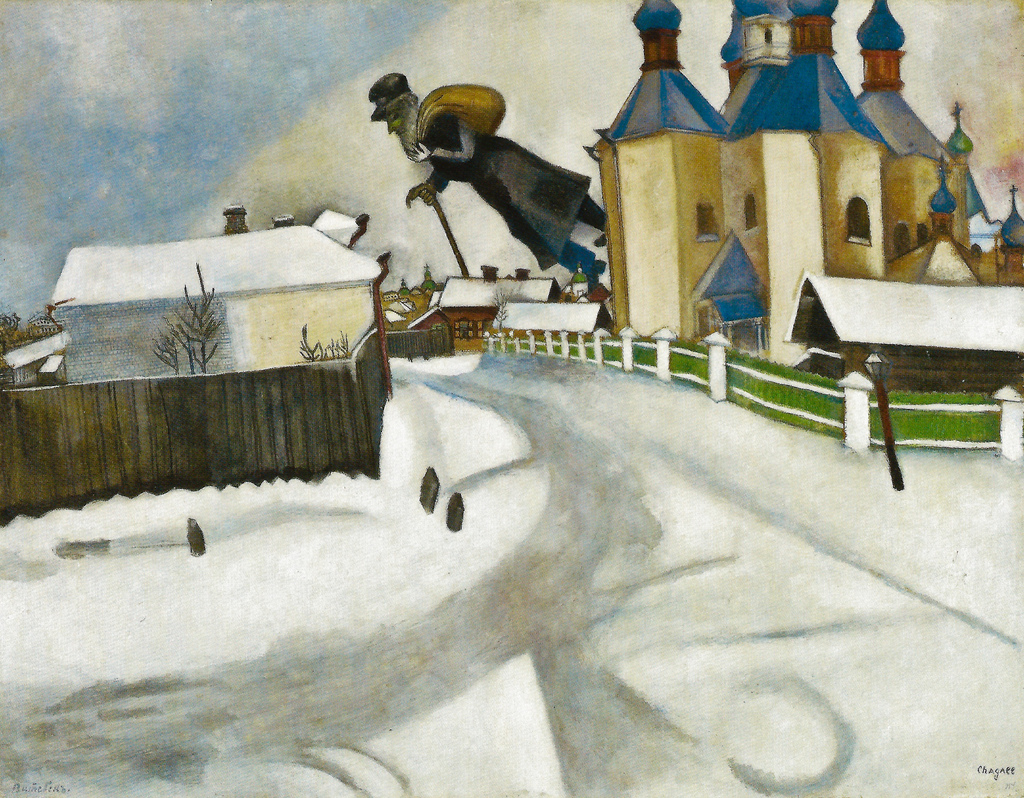 Marc Chagall - Over Vitebsk 1914