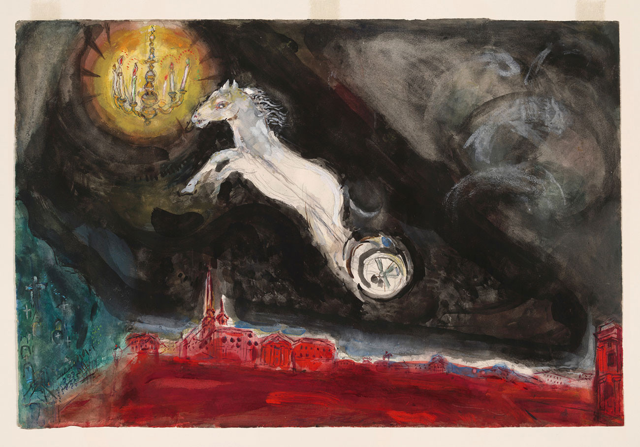 Marc Chagall - Set Design for The Firebird