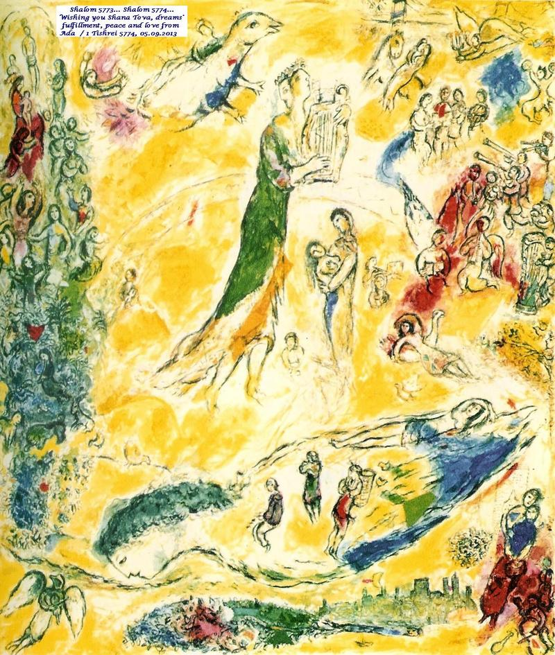 Marc Chagall - The Sources of Music