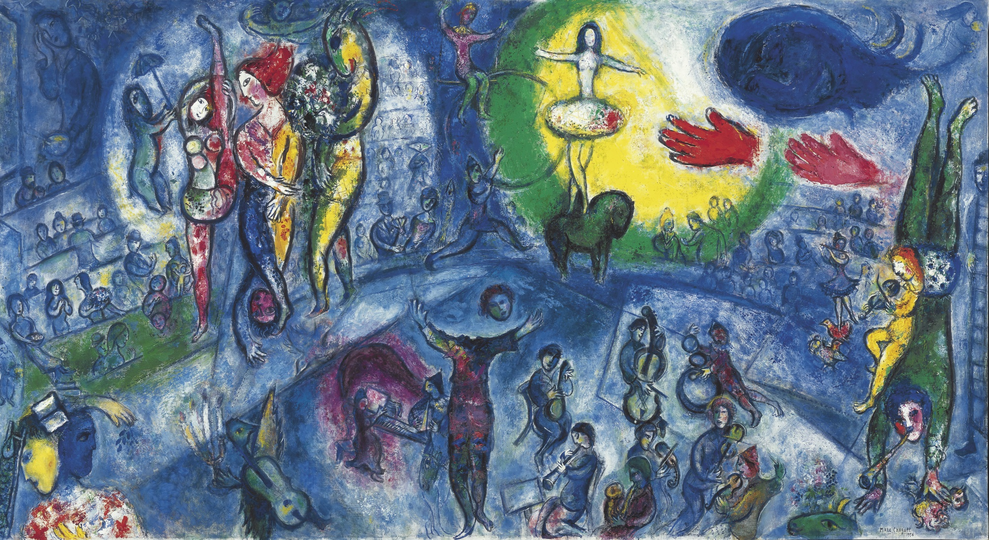 Le Grand Cirque - Marc Chagall