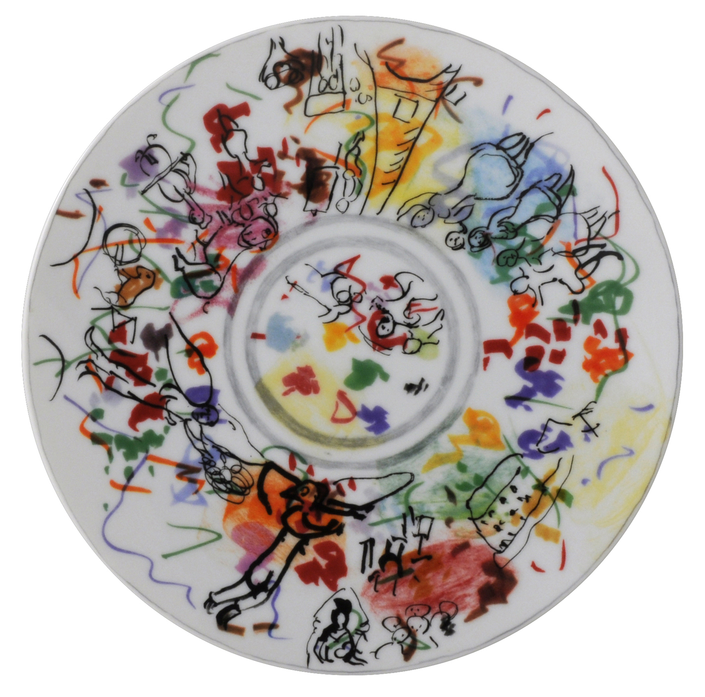 Chagall Ceramic Plate