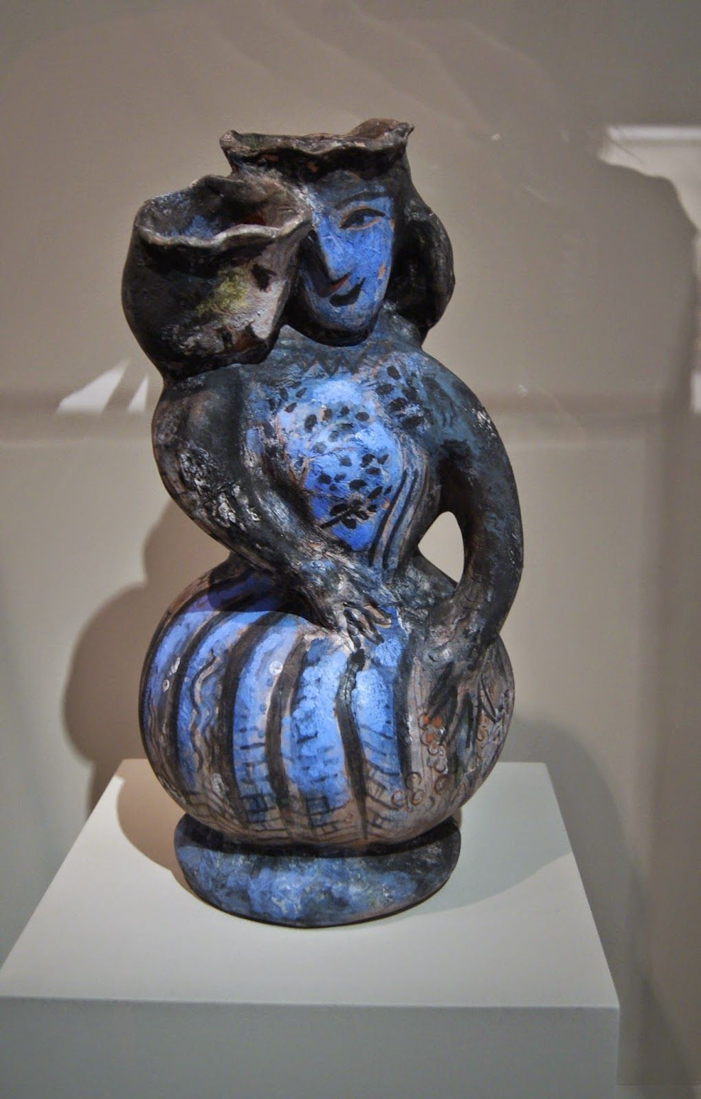 "Chagall Vase ""The Lovers"" 1957"