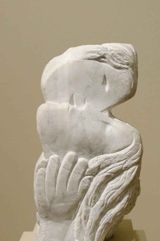 Marc Chagall, deux têtes, une main, 1964